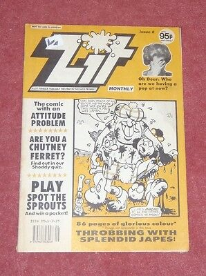 Zit Comic No 6 Issue 1991 (Like Viz)
