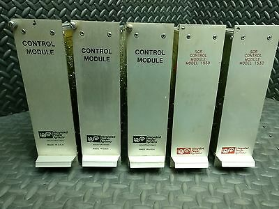 LOT OF 5 INTEGRATED POWER SYSTEMS SCR Control Module PLC CARDS MODEL 1530