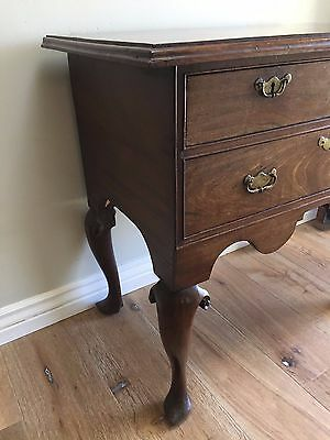 Antique Side Table George Iii 18Th Century English Oak Lowboy