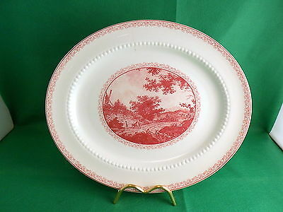 Royal Cauldon Scenario Oval Platter