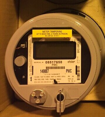 Elster, Watthour Meter Kwh, A1Rl+, Fm16S/15S/14S, 200A, 7 Lug, 4 Wire, 120-480V