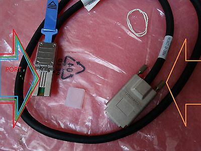 HP SAS CX4 SFF-8470 to SFF-8088 MiniSAS External Cable 408771-001 1m 3ft