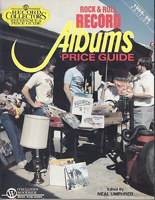 Record Collectors Price Guide Rock & Roll Record Albums 1985 - 1986 Edition