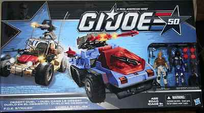 New G.I. JOE Cobra Desert Duel Vehicles with Action Figures 50 Exclusive Set