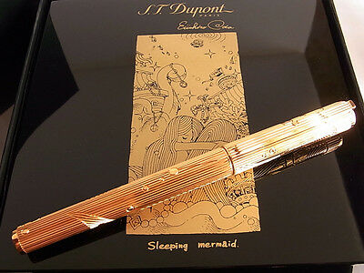 S.T. Dupont Limited Edition Neo Classique Sleeping Mermaid Fountain Pen M