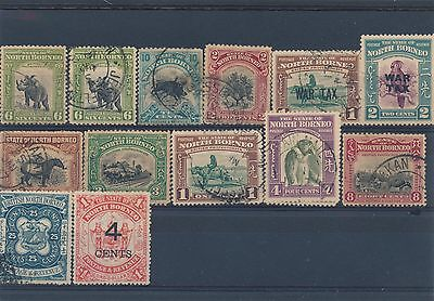 North Borneo Early collection stamps    HPS2