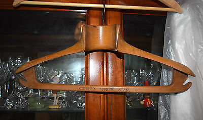 "Antique ""Cunard White Star"" Coat Hanger"