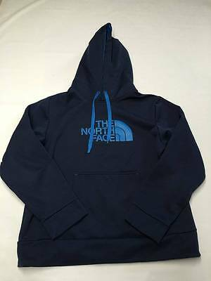 Boys THE NORTH FACE Blue Pullover Hoodie Sweater Sz XL