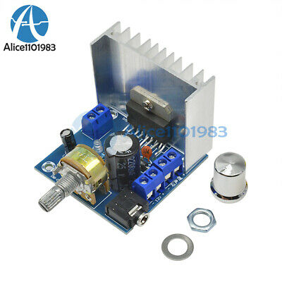 AC/DC 12V TDA7297 2x15W Digital Audio Amplifier DIY Kit Dual-Channel Module
