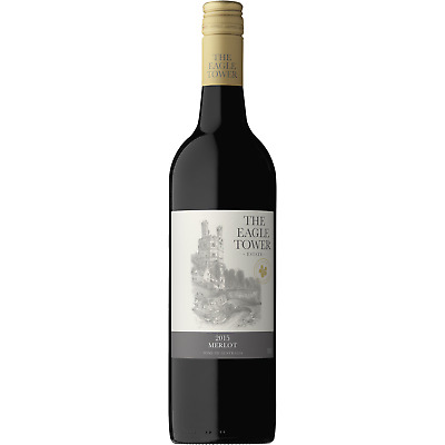 The Eagle Tower Merlot SEA Red Wine (12x750ml) RRP$189