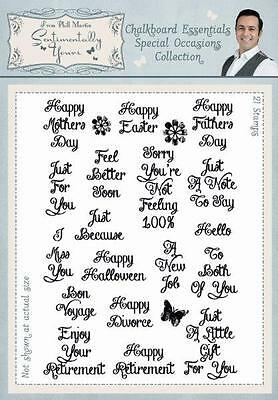 PHIL MARTIN Sentimentally Yours CHALKBOARD ESSENTIALS Sympathy Collection ESC