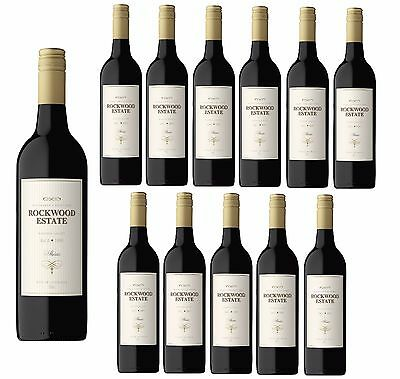 Rockwood Estate Shiraz Barossa Valley Red Wine 2014 (12x750ml) Free Shipping