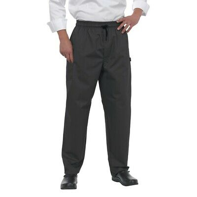 Le Chef Professional Pants Black XL BARGAIN
