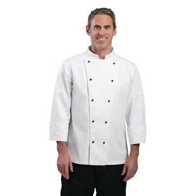 Whites Chicago Chef Jacket Long Sleeve White S BARGAIN
