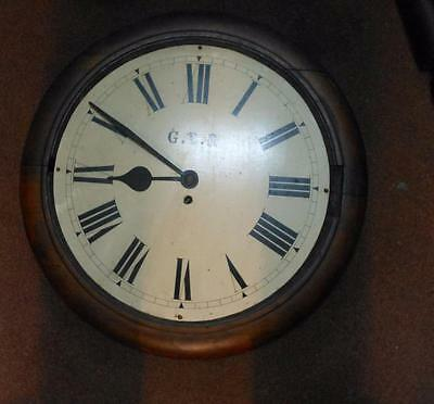 16 inch dial GREAT EASTERN RAILWAY CLOCK FOR RESTORE