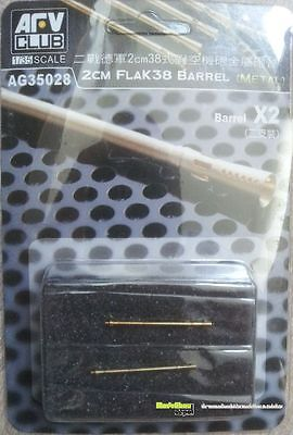AFV Club AG35028 2cm FlaK38 Barrel   1:35