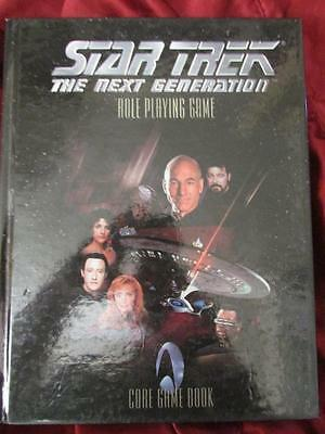 RARE -  STAR TREK THE NEXT GENERATION CORE RULEBOOK Roleplaying Game RPG OOP