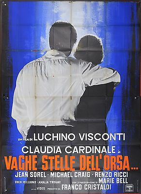 Manifesto, Vaghe Stelle Dell'orsa, Visconti, Cardinale, Bell, Poster Affiche