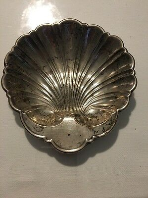 Sterling Silver Clam Shell Candy Dish, By Gorham, #445