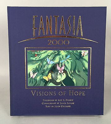 Fantasia 2000 Book - Visions of Hope by John Culhane - SIGNED by Roy E. Disney