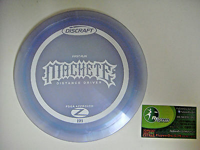 DISC GOLF DISCRAFT FIRST RUN ELITE Z MACHETE 167-169g DISTANCE DRIVER  LAVENDER