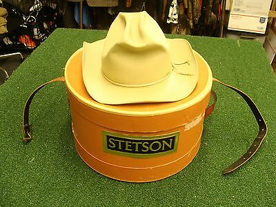 Vintage Royal Stetson Fedora Hat Cowboy Western from Luskey's of Ft Worth Texas