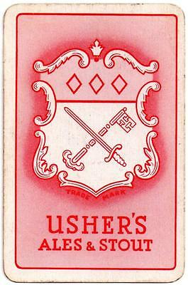 Ushers of Trowbridge Playing Cards Single - Usher's Ales & Stout