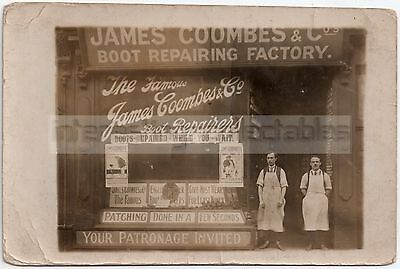 James Coombes & Co SHOPFRONT - Boot Repairer/Cobbler - Unlocated/Mystery/Unknown