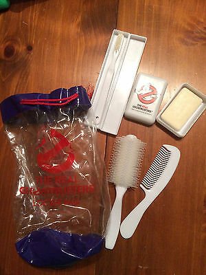 Vintage 1984 The Real Ghostbusters Locker Bag Toiletries