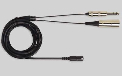 Shure Bcasca-Nxlr3Qi Xlr/6,3 Mm Cable Assembly For Brh440M/brh441M