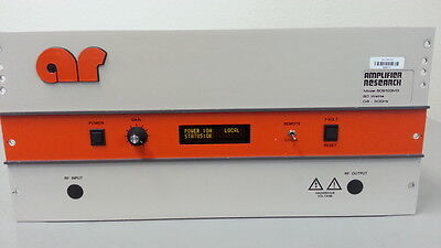 Amplifier Research 60S1G3 Microwave Amplifier, 0.8 - 3 GHz, 60W