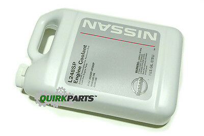 genuine nissan long life antifreeze/coolant (green)