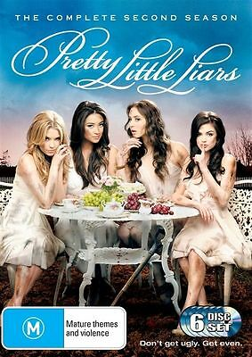 Pretty Little Liars : Season 2 (DVD, 2012, 6-Disc Set)  New, ExRetail Stock, D61