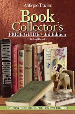 Antique Trader BOOK COLLECTOR'S PRICE GUIDE By Richard Russell, Very Good
