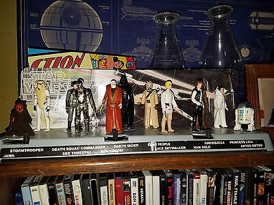 STAR WARS ACTION Figures With Display Stand 4040 PicClick Classy Star Wars Action Figure Display Stand