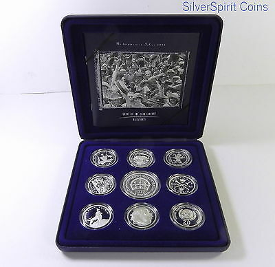 1998 MASTERPIECES IN SILVER Set Commemorative Set