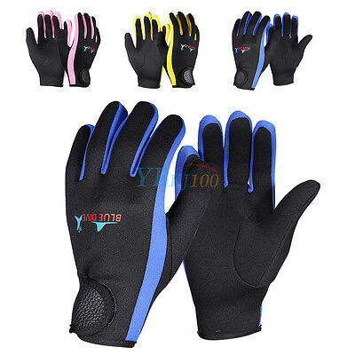 1.5mm Neoprene Protective Gloves For Scuba Diving Snorkeling Surfing Swimming SA