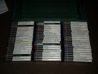60x Boxed PS2 Playstation 2 Video Games Bundle Wholesale Joblot 60 Good Nice Mix