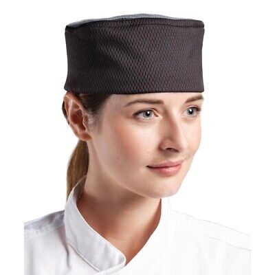 Le Chef Stay Cool Black Skull Cap Size L BARGAIN