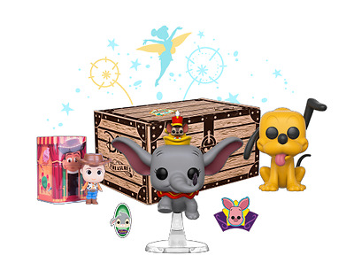 Disney Treasures Funko POP! Box Dumbo, Pluto, Woody
