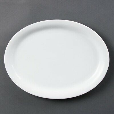 Olympia (Pack of 6) Whiteware Oval Platters 295mm BARGAIN