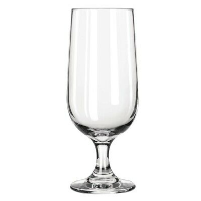 Libbey (Pack of 12) Embassy Footed Beer Glasses 415ml BARGAIN