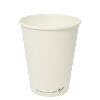 Vegware (Pack of 1000) Compostable Single Wall Hot Cup 455ml BARGAIN