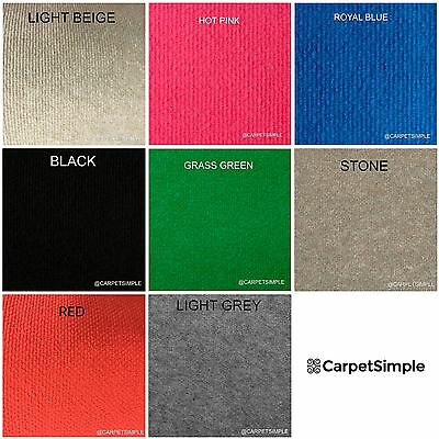 Cheap Thin Budget Cord Carpet-Exhibition-Commercial-Temporary-4m wide Any size