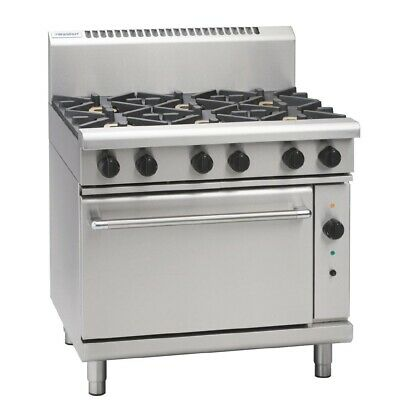 Waldorf 900Mm Convection Oven Range Griddle Flat Hot Top Hottop Lpg Rn8619Gc