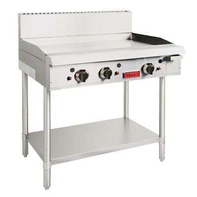 Commercial Thor Natural Gas 3 Burner Three Burners Griddle Hotplate Flat Top