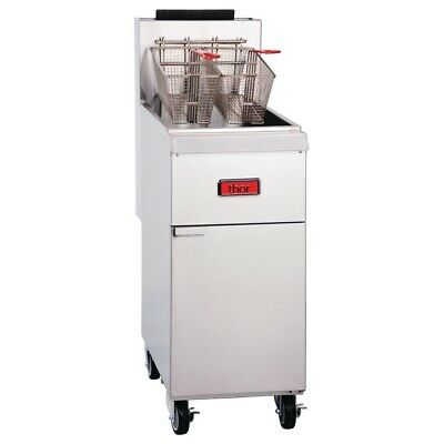 Commercial Thor Natural Gas Heavy Duty Deep Fryer Chicken Frying Machine