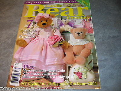 Australian Bear Creations Volume 10 No 6 Projects Quilt project
