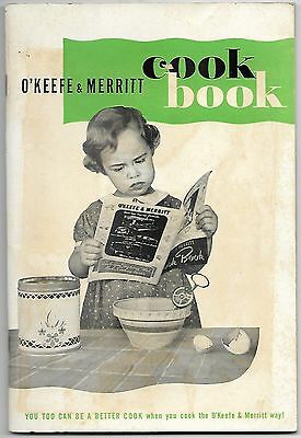 1950s O'keefe Merritt Gas Range Owner Manual & cookbook cook book; stove