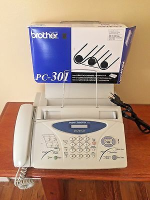 Brother IntelliFAX 775 Plain Paper Thermal Transfer Fax Copier + PC301 CARTRIDGE